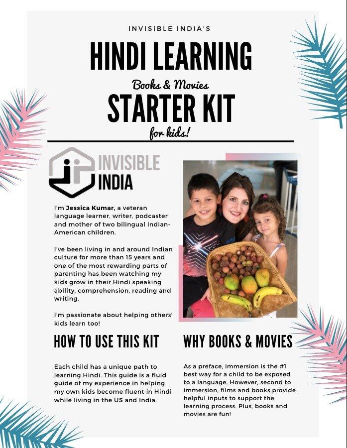 Kids Hindi Learning Book